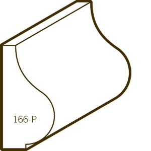 Finger Joint Pine Primed Base Cap | 166P