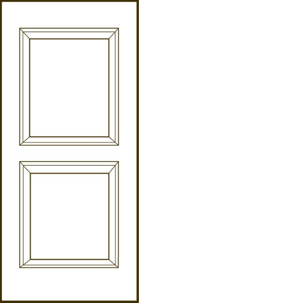 "Jeld-Wen® Carrara Hollow 1'6"" x 6'8"" x 1-3/8"""