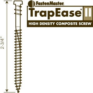 Decking Screws -  Brown