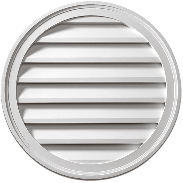 Fypon® Round Non-Venting Louver