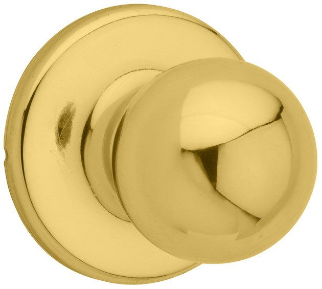 Kwikset® Polo Bright Brass Dummy Knob