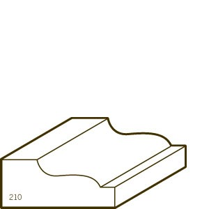 Finger Joint Pine Primed Panel Mould | 210