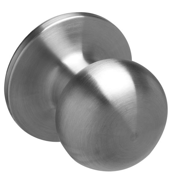 Schlage® Builder Basics Satin Stainless Passage Knob