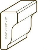 Azek® PVC Shingle Moulding