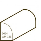 Finger Joint Pine Primed Shoe | WM-126