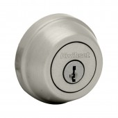 Kwikset® 780 Single Cylinder Satin Nickel Deadbolt