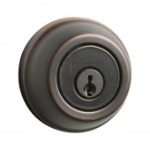 Kwikset® 780 Single Cylinder Venetian Bronze Deadbolt