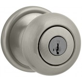Kwikset® Hancock Satin Nickel Entry Knob