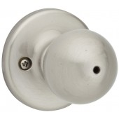 Kwikset® Polo Satin Nickel Privacy Knob