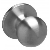 Schlage® Builder Basics Satin Stainless Privacy Knob