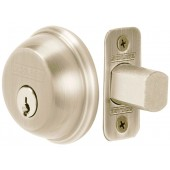 Schlage® Single Cylinder Satin Nickel Deadbolt